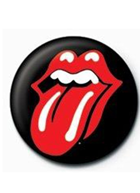 Pyramid International Rozet - Rolling Stones - Lips Renkli